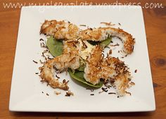 coconutchicken strips with avocado - gluten free, dairy free, low fodmap Fodmap Recipes, Paleo Recipes, Snack Recipes, Cooking Recipes, Nut Free, Dairy Free, Gluten Free, Coconut Chicken Strips, Low Fodmap