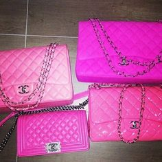 ✦⊱PINK⊰chanel collection ✦