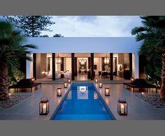 Pool. Lanterns. Open. Gorgeous.