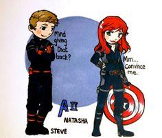 221 Best Steve Rogers and Natasha Romanoff (The Spy and The