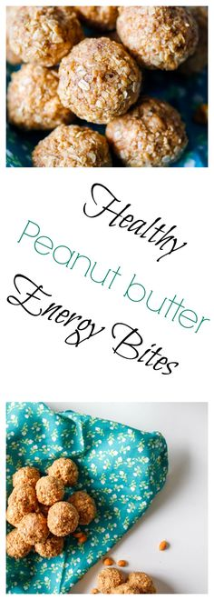 Peanut Butter Energy Bites, Healthy Peanut Butter, Natural Peanut Butter, Sweets Recipes, Dip Recipes, Desserts, Yummy Treats, Yummy Food, Natural Energy
