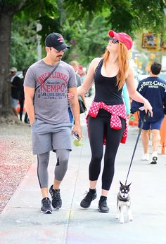 Sophie Turner and Joe Jonas Out With Their Dog | POPSUGAR Celebrity