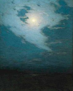 Birge Harrison Soaring Clouds, ca. 1908 (Oil on canvas, 30 x 23-1/2 inches) Spanierman Gallery, NYC ============== Click for more information