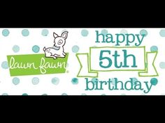 Have an Otterly Great Birthday, Lawn Fawn!