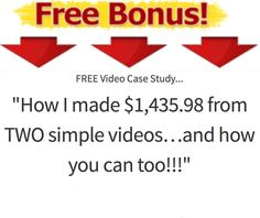 How I Made $1,435.00 From TWO  Simple  Videos and how you can Too!