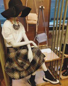 fab mannequin at MOKO today  #trendy4tmrw #fashion #fashionblogger #styleblogger #hongkong #hongkongstyle #hongkongfashion