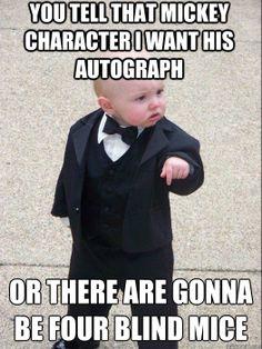Hahahaha! Gotta love the Baby Godfather