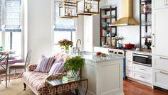 Arredare uno spazio piccolo …con un tocco di lilla !