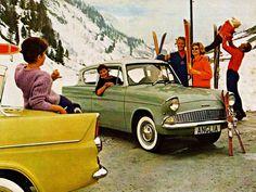 Ford Anglia Ford Motor Company, Vintage Ski, Vintage Cars, My Dream Car, Dream Cars, Ford Anglia, Mg Midget, Ford Capri, Car Advertising