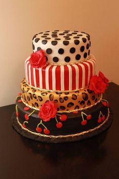 Pinup style cake