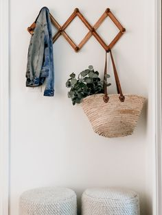Front entryway decor | House & Roses Front Entryway Decor, Foyer, Casual Mom Style, Boho Life, Stone Flooring, Home Decor Styles, Hand Weaving, Sweet Home, New Homes