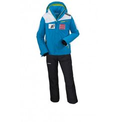 Pre-Order: Austrians Cian ski suit adult - It is a challenge to find a jacket that does it all. The solution is the Austrian Ski Federation Cian Jacket by Schoffel. The incorporated 4 way stretch you a perfect fit and full freedom of movement. This jacket is waterproof, windproof and offers you exactly the kind of functionality you need.