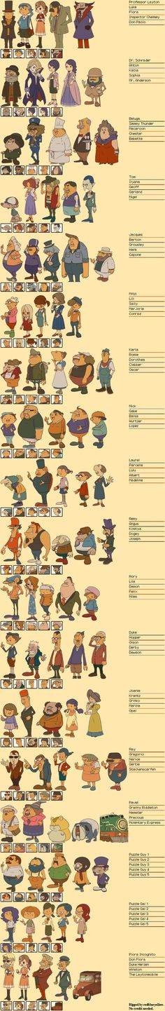 Diabolical Box characters-remember them all :)