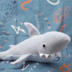 Shark pattern by Abby Glassenberg