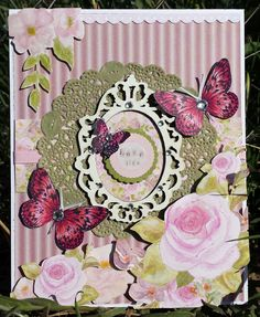El caracol verde: Kaisercraft May Card Challenge