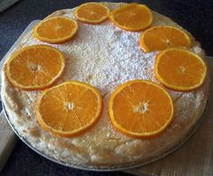 Citrónový dort s pomerančem... Osvěžující letní pochoutka