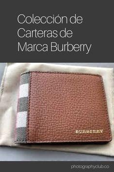 07dc75ba76852 La marca inglesa Burberry lanza su nueva colección de carteras y tarjeteros para  hombre y vamos a contaros todo sobre ellas en este artículo .