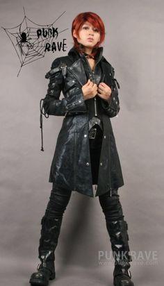 Punk Rave Visual Kei Gothic Jacket Mens Medium