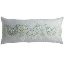 Spring Meadow Butterfly Oversized Lumbar Pillow