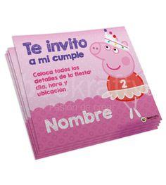 ¡El cumple de tu nena será inolvidable con estas invitaciones de Peppa Pig!  Personalízalas e imprímelas tu mism@. Entra en www.beekrafty.com en la sección de Tarjetas de Cunpleaños. #beekrafty #pasionporcrear  http://www.beekrafty.com/es/tarjetas/8-tarjetas-peppa-pig-hada.html