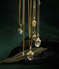 Ole Lynggaard Copenhagen—Page 94 Jewelry Ads, Jewelry Trends, Jewlery, Fine Jewelry, Jewelry Design, Lotus, Jewelry Photography, Bead Caps, Pearl Beads