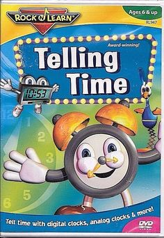 Telling Time Rock N Learn  DVD FACTORY SEALED BRAND NEW FREE SHIP TRACK US