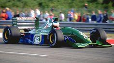 Team 7Up Jordan No.32 Michael SCHUMACHER JORDAN 191 Ford Cosworth HB NA3.5L V8 Goodyear - 1991 Rd.11 Belgium GP