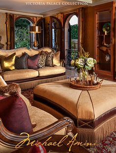 Tuscan design – Mediterranean Home Decor Cowhide Furniture, Dining Room Furniture, Luxury Furniture, Furniture Decor, Furniture Design, Formal Living Rooms, Living Room Sets, Living Room Designs, Living Room Decor