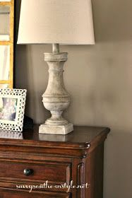 Savvy Southern Style: Transforming Lamps From New to Old