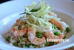 The Pointe Tofino BC - specializing in local ingredients and a wicked brunch! Tofino Bc, Prawn, British Columbia, Risotto, Wicked, Brunch, Eat, Food, Essen