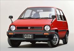 Honda: City (first model 1981) (not Civic) ホンダ シティ (初代)
