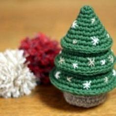 かぎ針編みのシンプルなクリスマスツリーの作り方|編み物|編み物・手芸・ソーイング|アトリエ