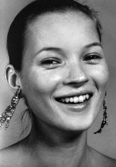 Kate in great earrings