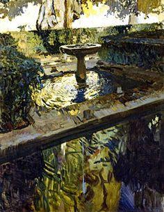 Generalife.Granada.Sorolla1910