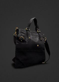 #leather #shopper