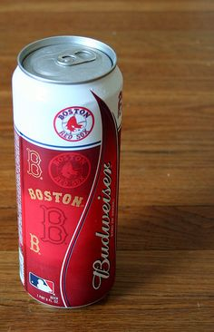 Budweiser Red Sox 2007 World Series Champs! - We are from Boston, after all.
