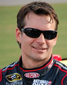 Jeff Gordon. The biggest sports figure of my childhood. He was my first hero and he'll always hold a special place in my heart.