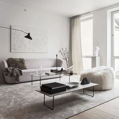 Living room ideas that are going to be a blast when it comes to getting an interior design ideas looking like a million bucks! Add the modern decor touch to your home interior design project! Minimalism Living, Modern Minimalist Living Room, Minimalist Interior, Living Room Modern, Minimalist Home, Living Room Interior, Home Interior, Home Living Room, Living Room Designs