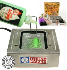 Creepy Crawler Machine - remember when kids weren't too stupid to play with things like this?  Imagine the lawsuits now - wow.