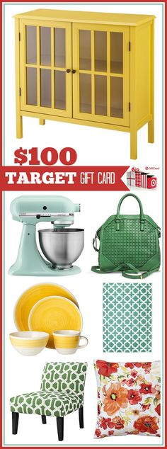 $100 Target GIVEAWAY!!!! Click on the image to go to the36thavenue.com and enter to win there!!!