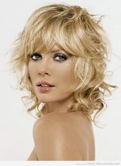 Trendy Short Hairstyles with Bangs for Women cute