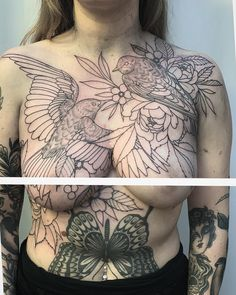 Image may contain: one or more people and closeup Woman Body Tattoo, Full Body Tattoo, Body Art Tattoos, Tribal Back Tattoos, Girly Tattoos, Intimate Tattoos, Female Body Paintings, Beautiful Tattoos For Women, Goddess Tattoo