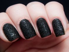 OPI Mariah Carey Holiday 2013 Collection - Liquid Sands | Chalkboard Nails