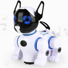 Electronic Smart Robot Dogs Remote Control Machine Dog Universal Walking Singing Dancing Kids Early Educational Toys 2629-T9 Electronic Toys Toys For Girls, Kids Toys, Electronic Toys For Kids, Bling Baby Shoes, Smart Robot, Rc Robot, Intelligent Robot, Hobby Toys, Interactive Toys