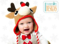Crochet & Knit Christmas Hats