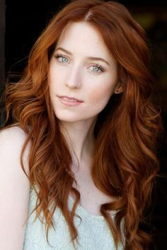 Image result for natural red hair