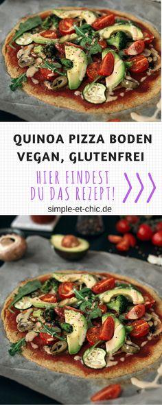 Quinoa Pizzaboden Pizza muss nicht immer Fastfood sein. Der Beweis dafür ist unsere leckere Quinoa-Pizza. Wie der Name schon vermuten lässt, besteht der Boden hauptsächlich aus Quinoa. Mit frischen Champignons und Zucchini belegt, schmeckt diese Pizza köstlich. Probiere es aus!