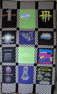 Custom made T-shirt Quilt: Twin size  100.00 Dollar Down Payment on Etsy, $100.00