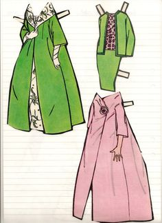 Annabelle L. Broström's clothes, 1963* The International Paper Doll Society Arielle Gabriel artist #QuanYin5 Twitter, Linked In QuanYin5 *