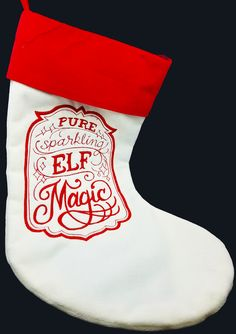 Available at Appli-Ks: Custom embroidered stockings, starting at $20.00; pricing includes monogram